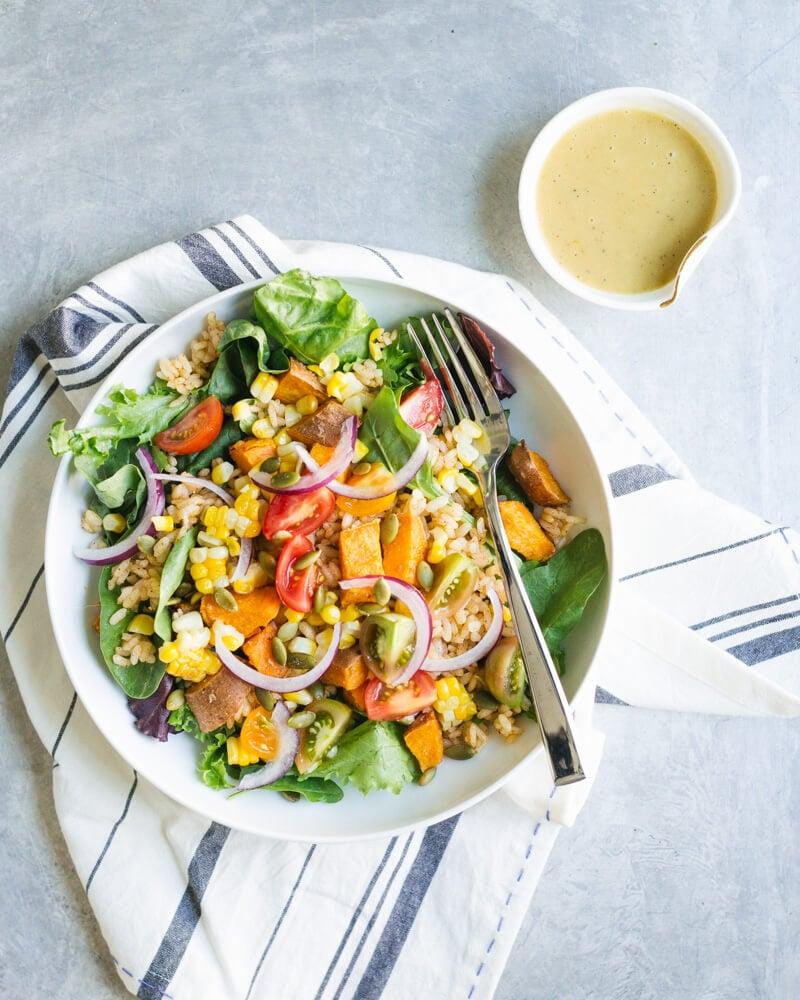 Southwest salad | Southwest vinaigrette
