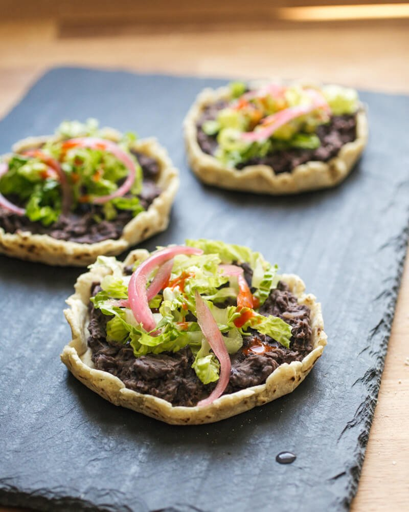 Authentic Mexican sopes
