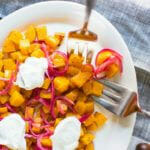 Butternut Squash with Pickled Onions | A Couple Cooks