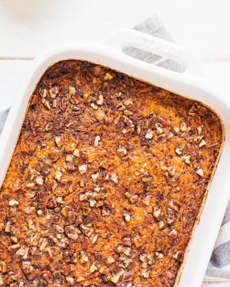 Carrot Cake Baked Steel Cut Oatmeal
