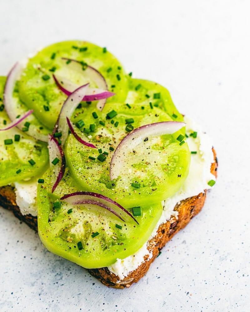 Green Tomato Toast Recipe
