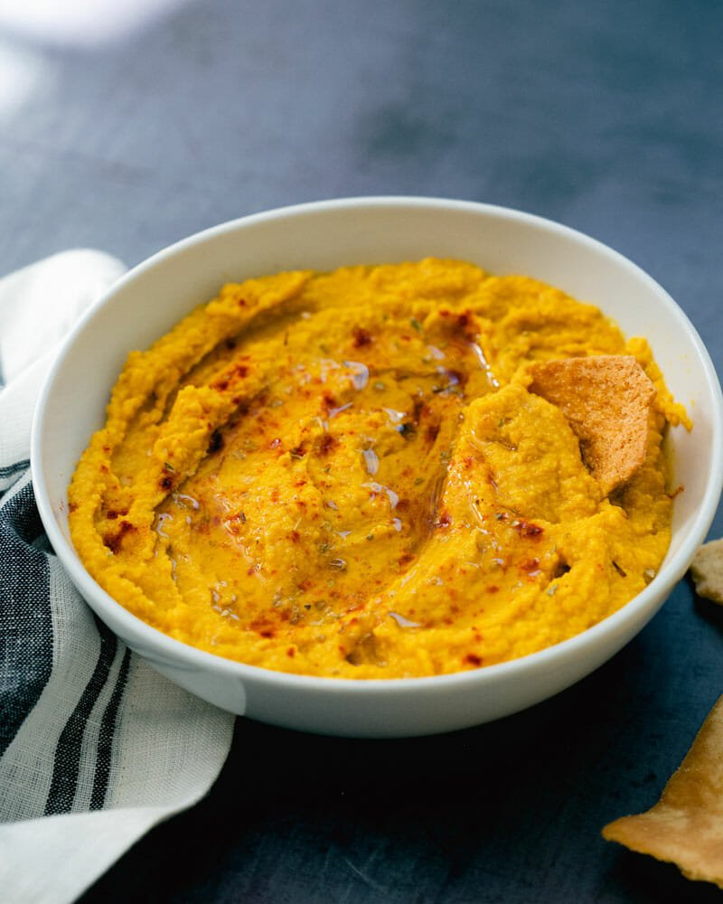 Easy Pumpkin Hummus A Couple Cooks
