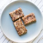 Pumpkin Spice Cashew Energy Bars | A Couple Cooks