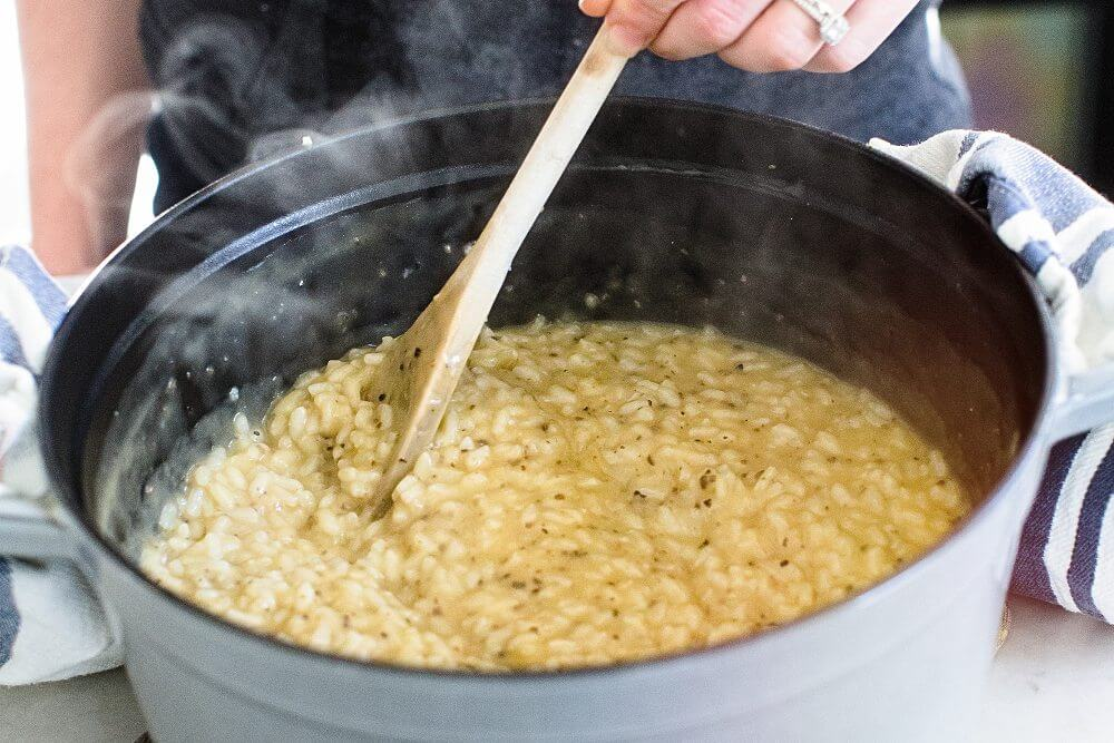 Truffle risotto | Parmesan risotto recipe
