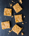 Maple Macadamia Vegan Blondies | A Couple Cooks