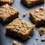 Maple Macadamia Vegan Blondies | A Couple Cooks