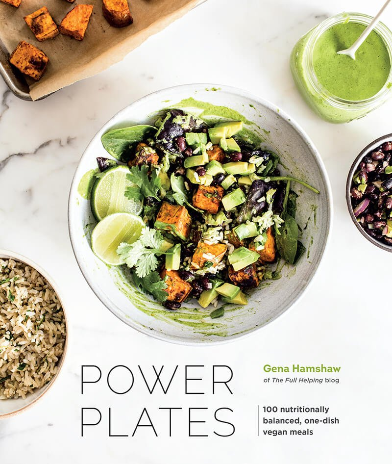 Power Plates | Gena Hamshaw | Healthy baked sweet potato with Moroccan lentils