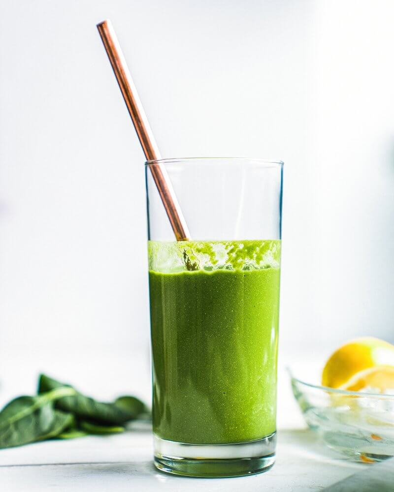 Glowing Green Apple Smoothie | A Couple Cooks