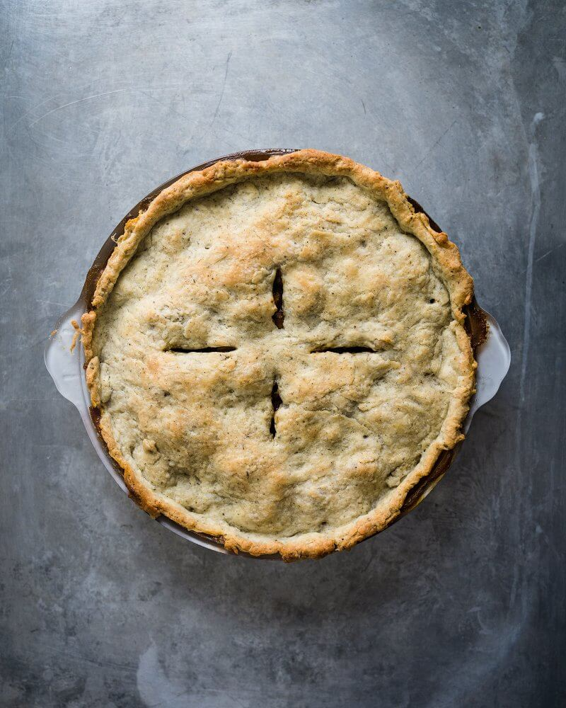 savory pot pie