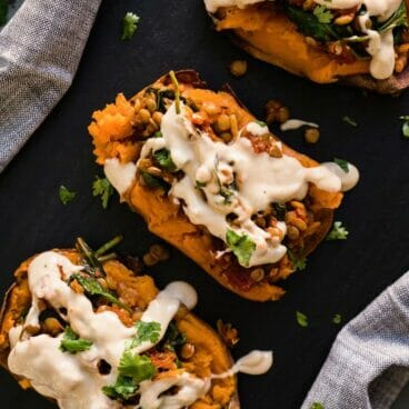 Moroccan Sweet Potatoes | A Couple Cooks via Power Plates