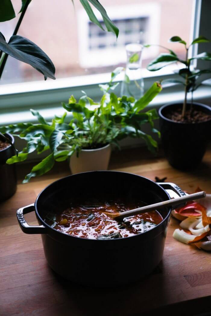 Tuscan soup   Tuscan bean soup