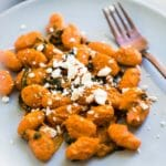 15-Minute Gnocchi with Romesco Sauce | A Couple Cooks