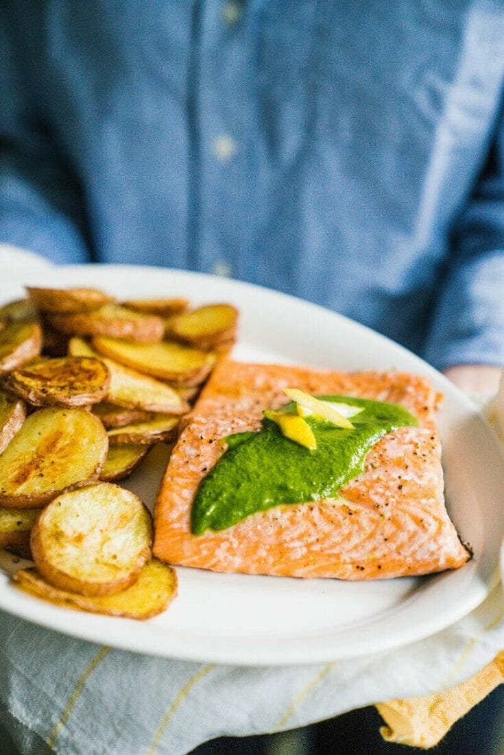 10-Minute Baked Salmon
