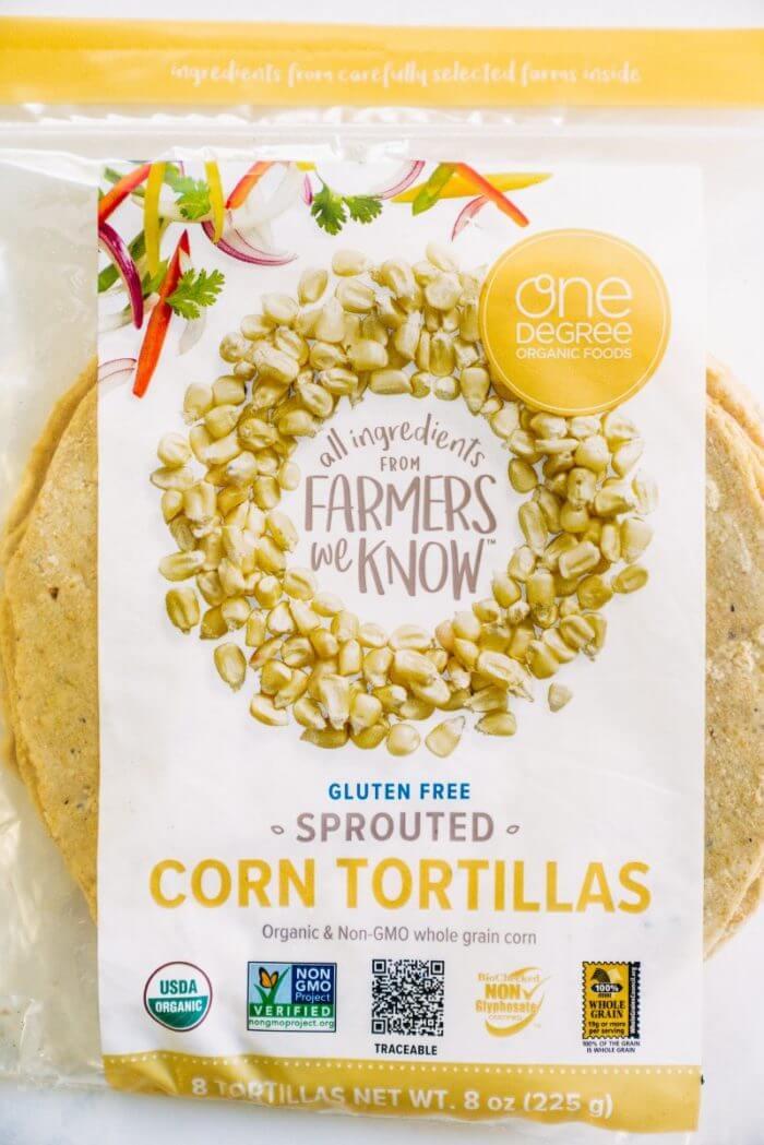 Organic tortillas