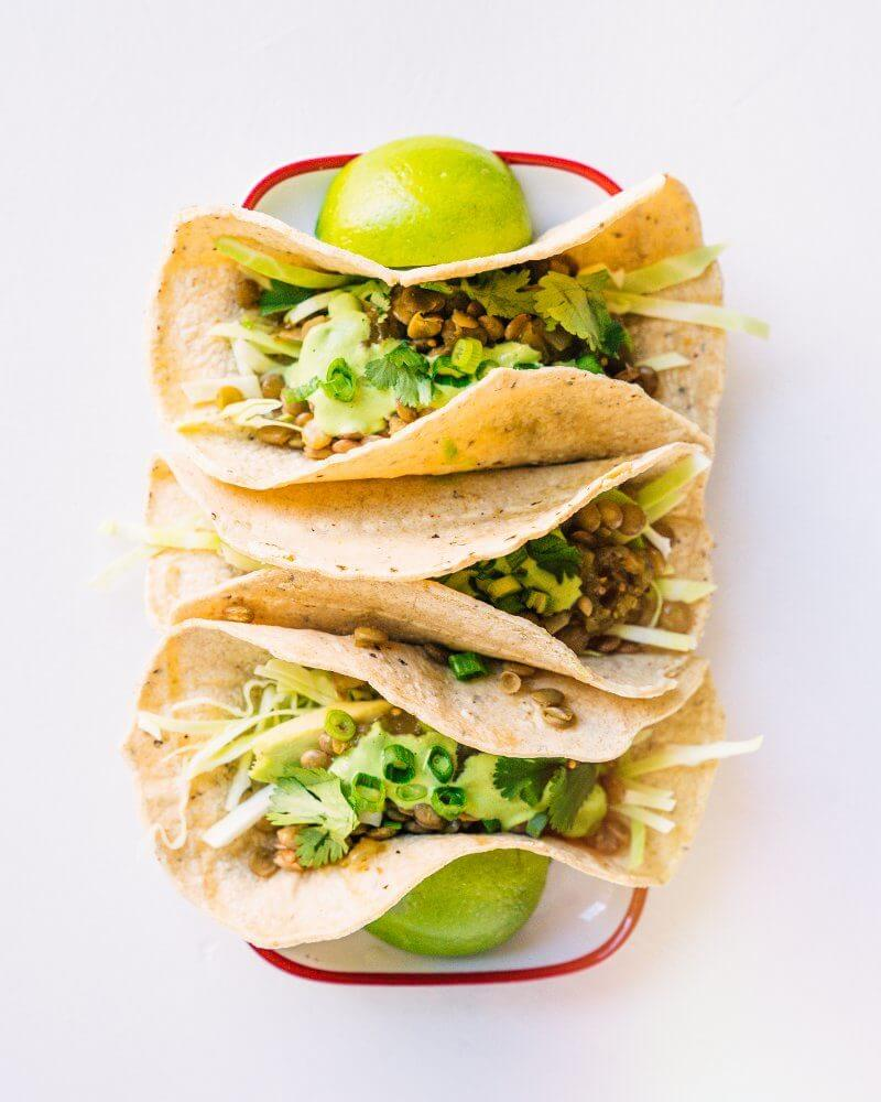 Easy vegan tacos