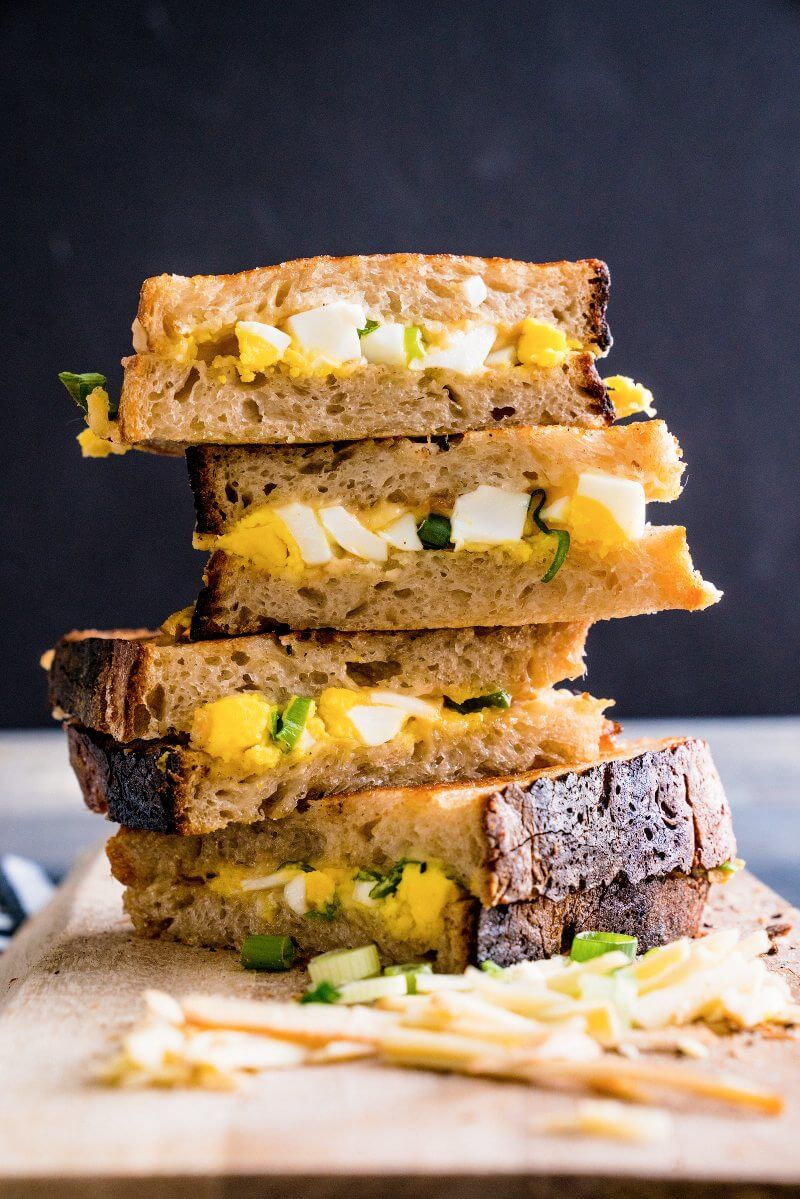 Grilled cheese with mayo