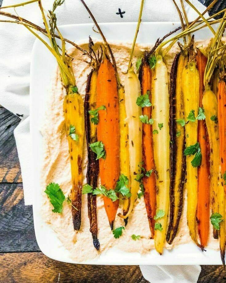 Cumin Roasted Carrots