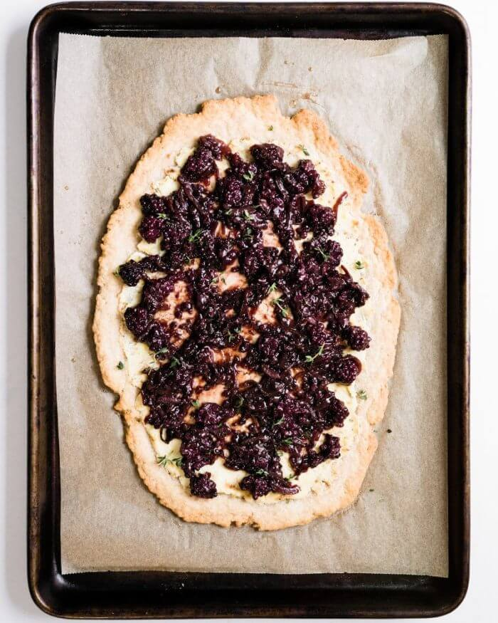 Savory tart Mother's Day recipe