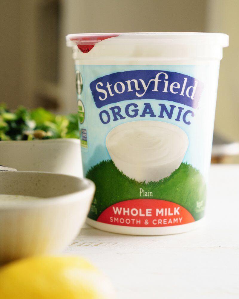 Go Green Bowls with Lemon Yogurt Sauce | A Couple Cooks