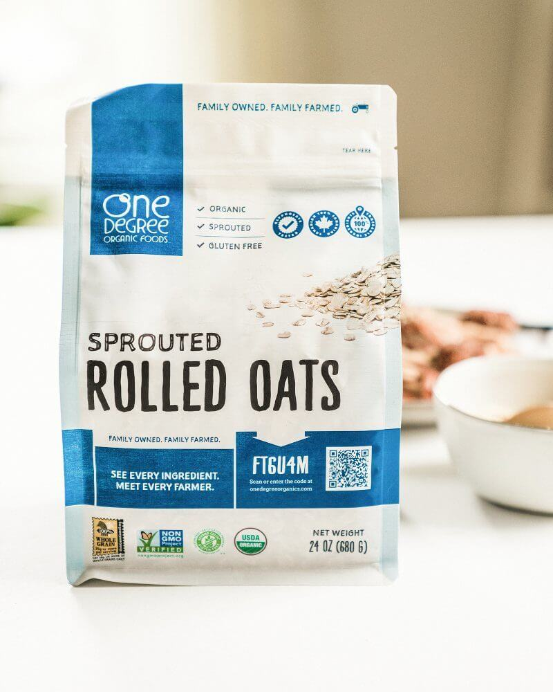 Sprouted oats