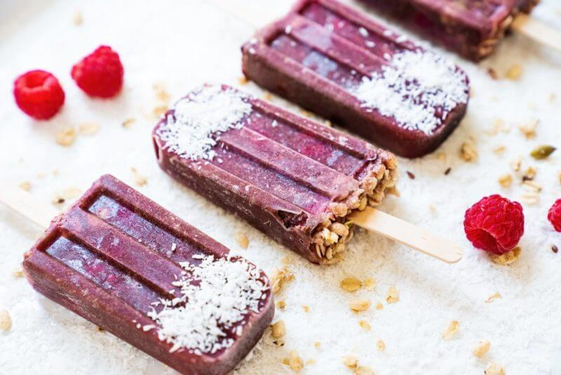 Acai Bowl Popsicles | A Couple Cooks