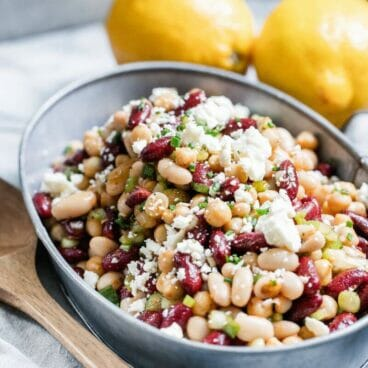 Seriously Simple Three Bean Salad | A Couple Cooks