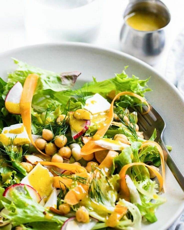 California Salad with Avocado Oil Vinaigrette
