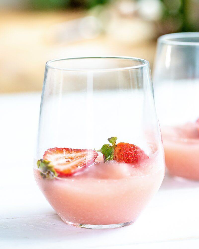 All Natural Frose Recipe (Frozen Rose) | A Couple Cooks
