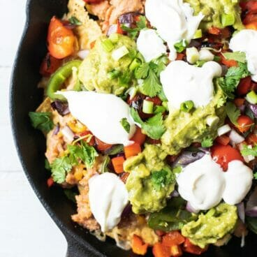 Loaded Grilled Nachos | A Couple Cooks