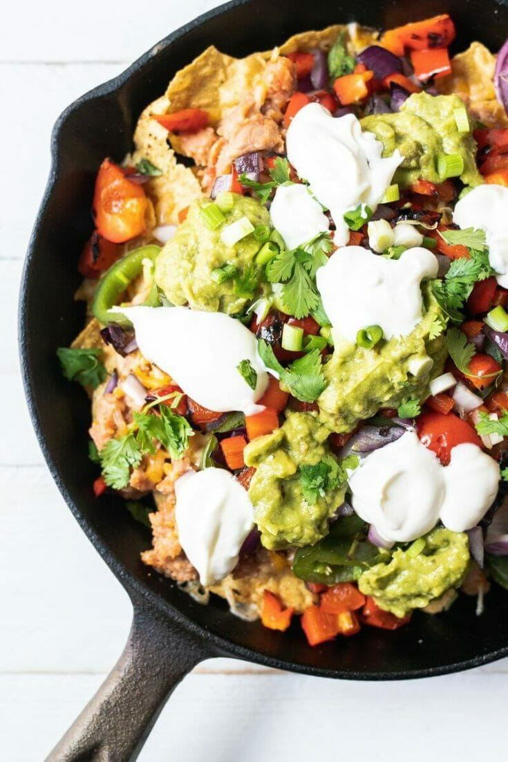 Grillable Loaded Nachos