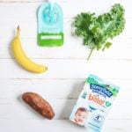 Sweet Potato Kale Homemade Baby Food Pouch Recipe | A Couple Cooks