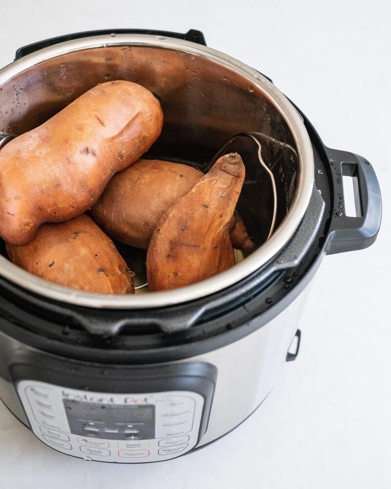 Easy Instant Pot Sweet Potatoes