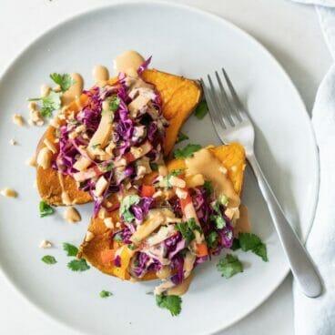 Instant Pot Thai Sweet Potatoes | A Couple Cooks