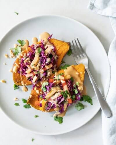 Instant Pot Thai Sweet Potatoes | A Couple Cooks