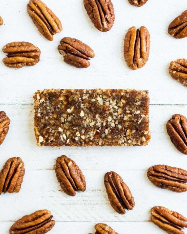 Superfood Pecan Energy Bars