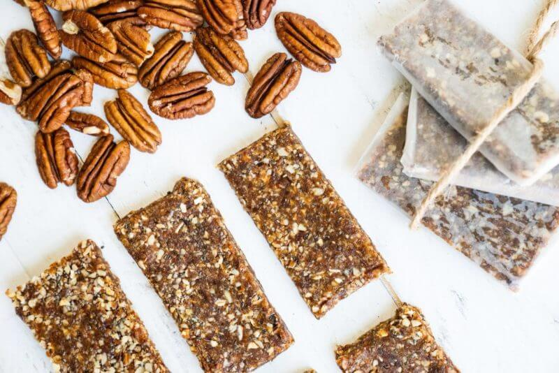 Superfood Pecan Energy Bars | A Couple Cooks