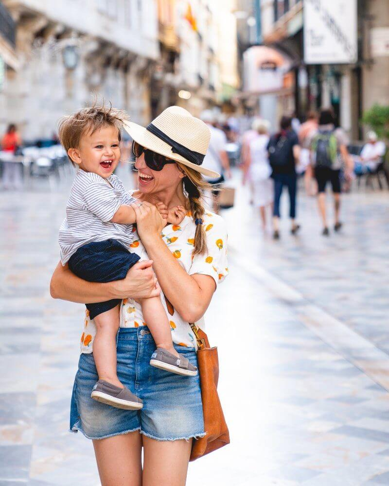 Traveling with a Toddler: Travel Beds, Packing List, & Tips!