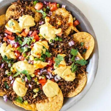 Vegan nachos | Healthy nachos | Gluten free nachos