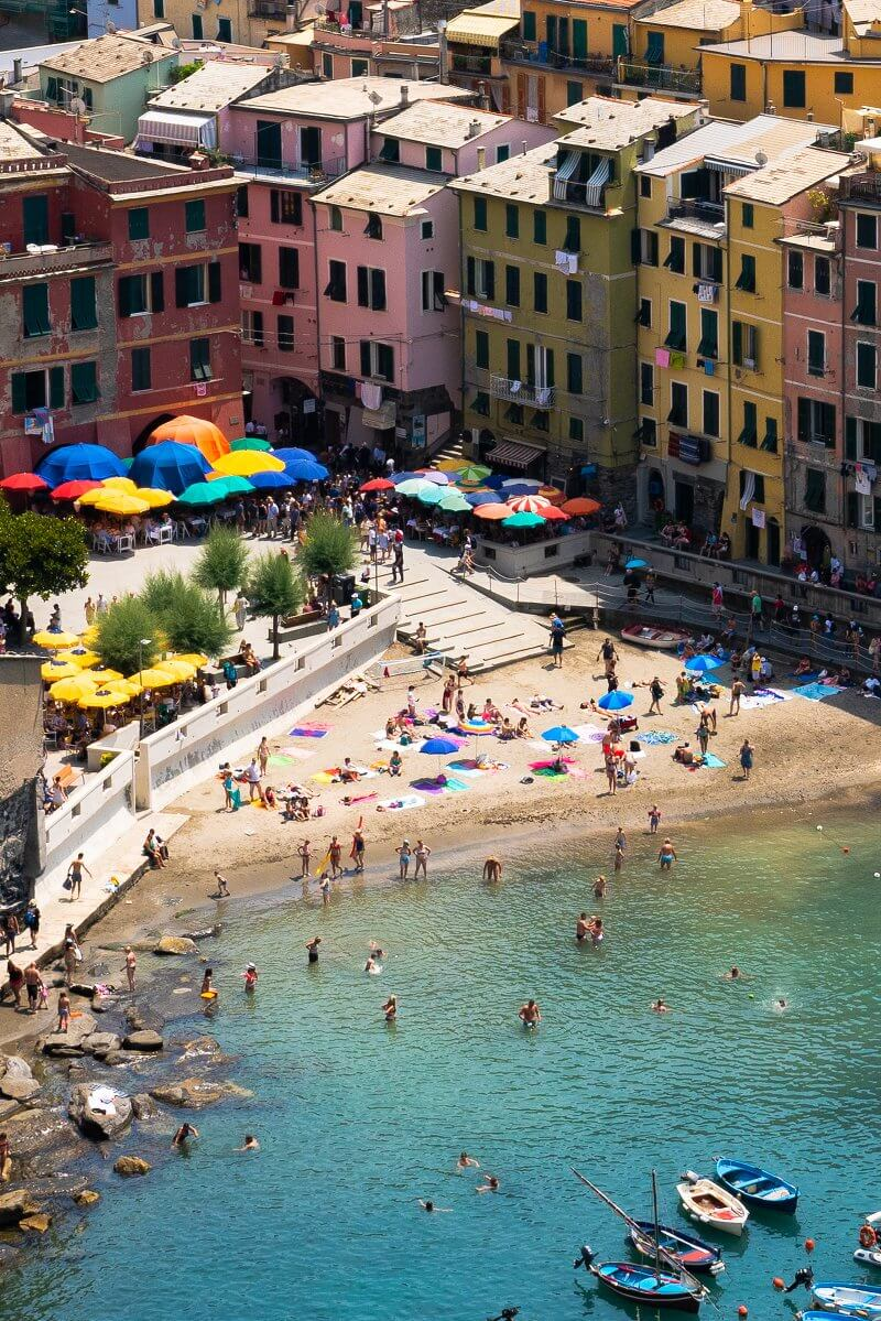 Vernazza Cinque Terre travel photos | How to take better pictures on vacation
