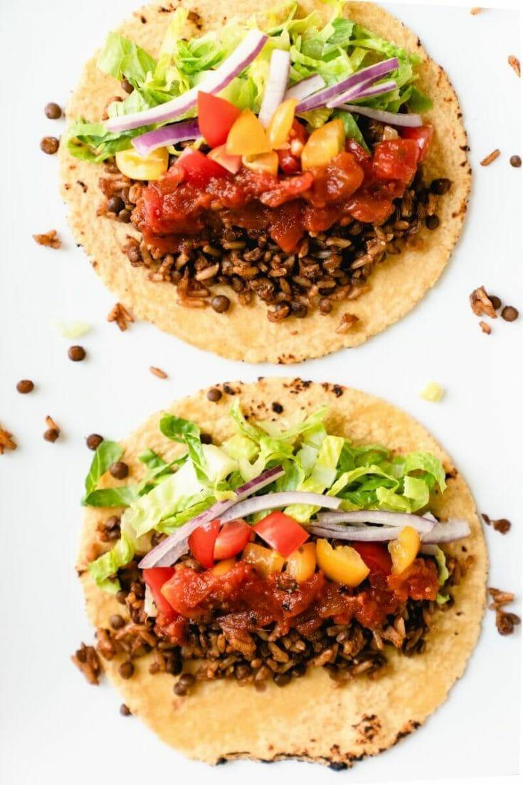 Smoky Lentil Tacos