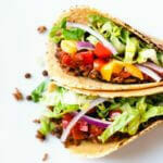 Instant Pot Tacos with Smoky Lentils | A Couple Cooks