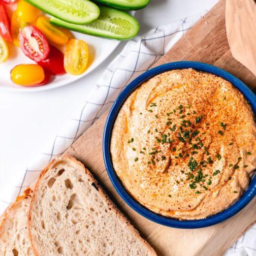 Paprika Goat Cheese Spread | A Couple Cooks