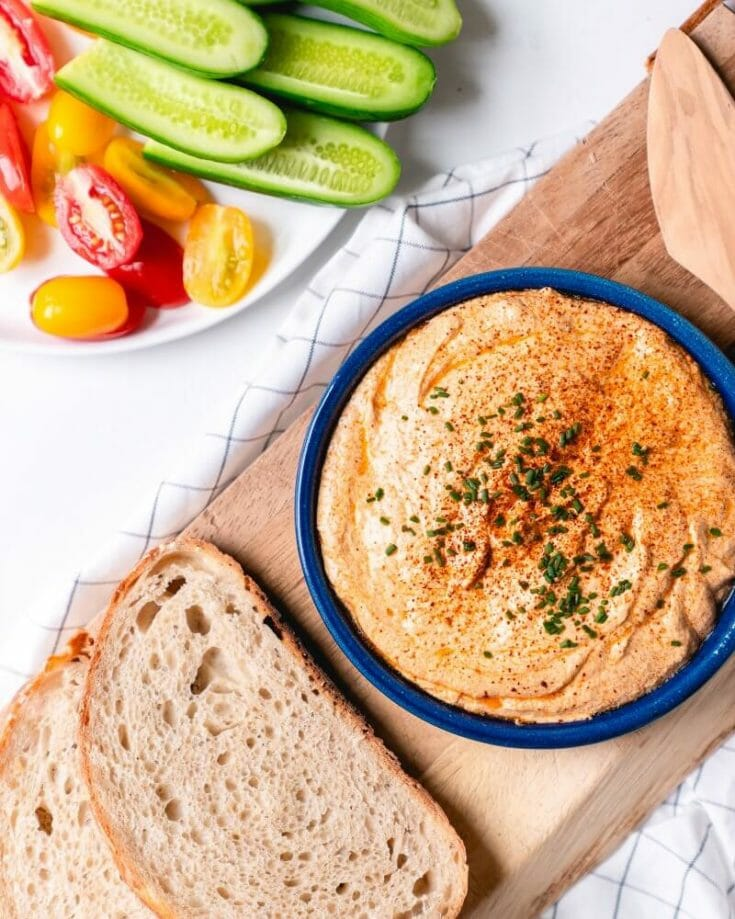 Paprika Goat Cheese Spread