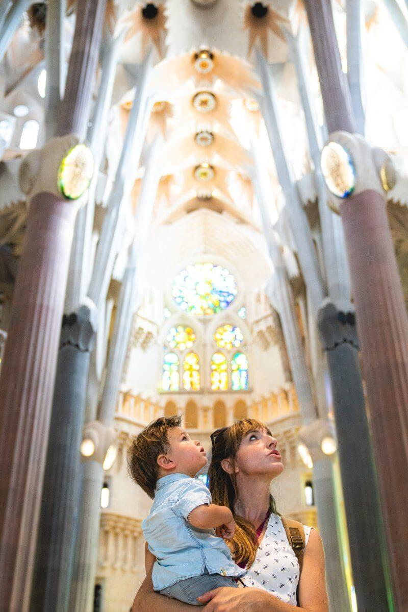 Traveling with a Toddler | Barcelona with kids