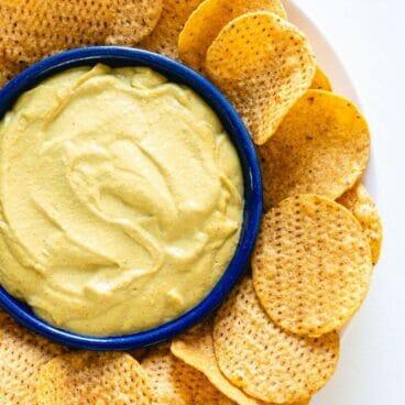 How to Make Vegan Nacho Cheese | A healthy vegan nacho cheese sauce recipe