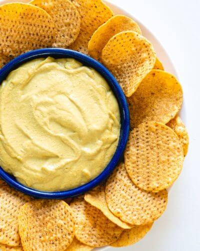 How to Make Vegan Nacho Cheese | A healthy vegan nacho cheese sauce recipe