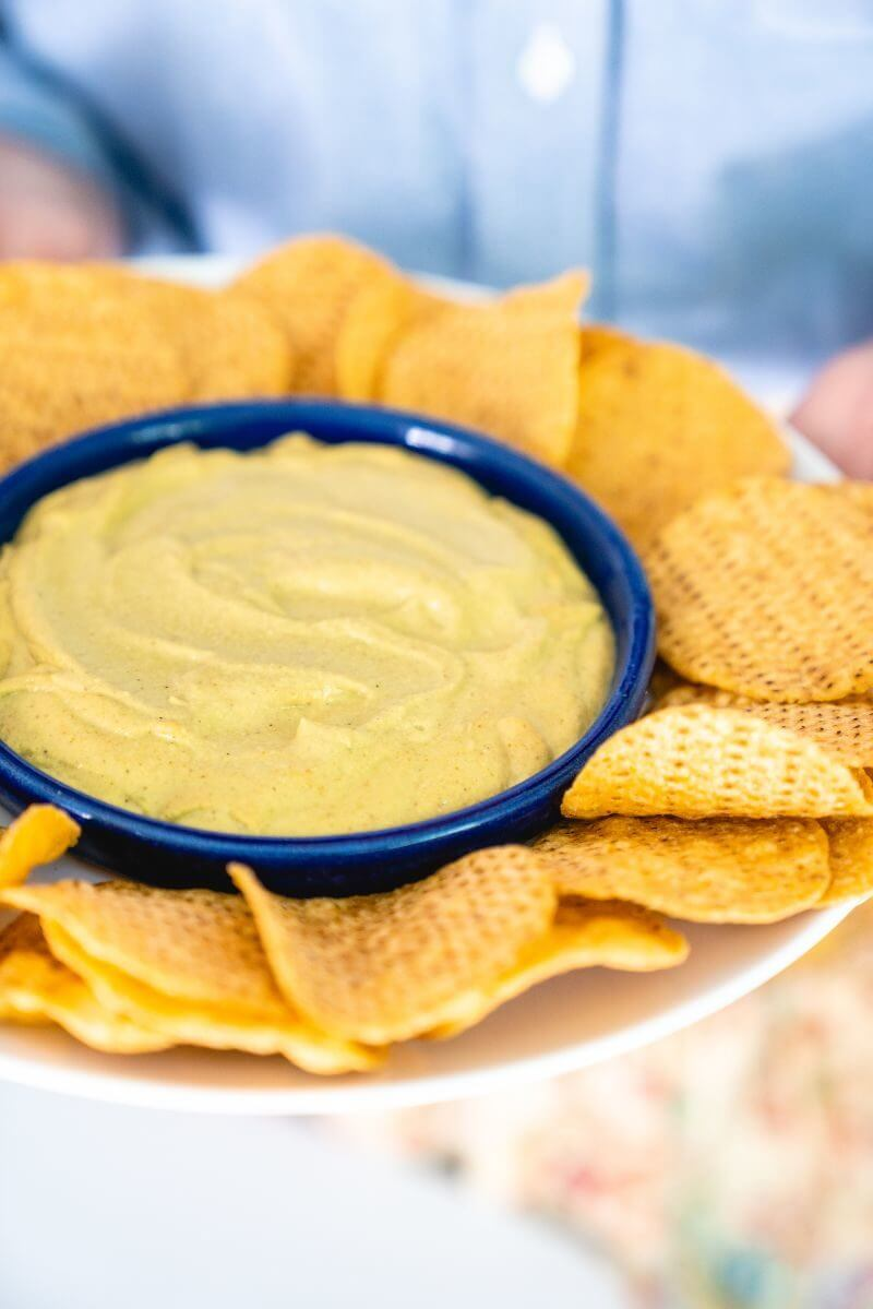 Whole food plant based queso