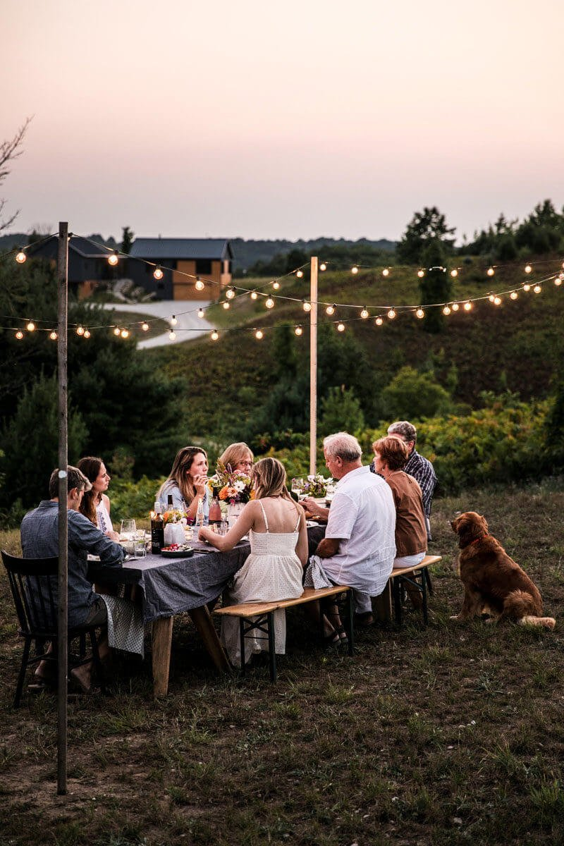 How to host a backyard party | backyard party ideas | outdoor dinner party