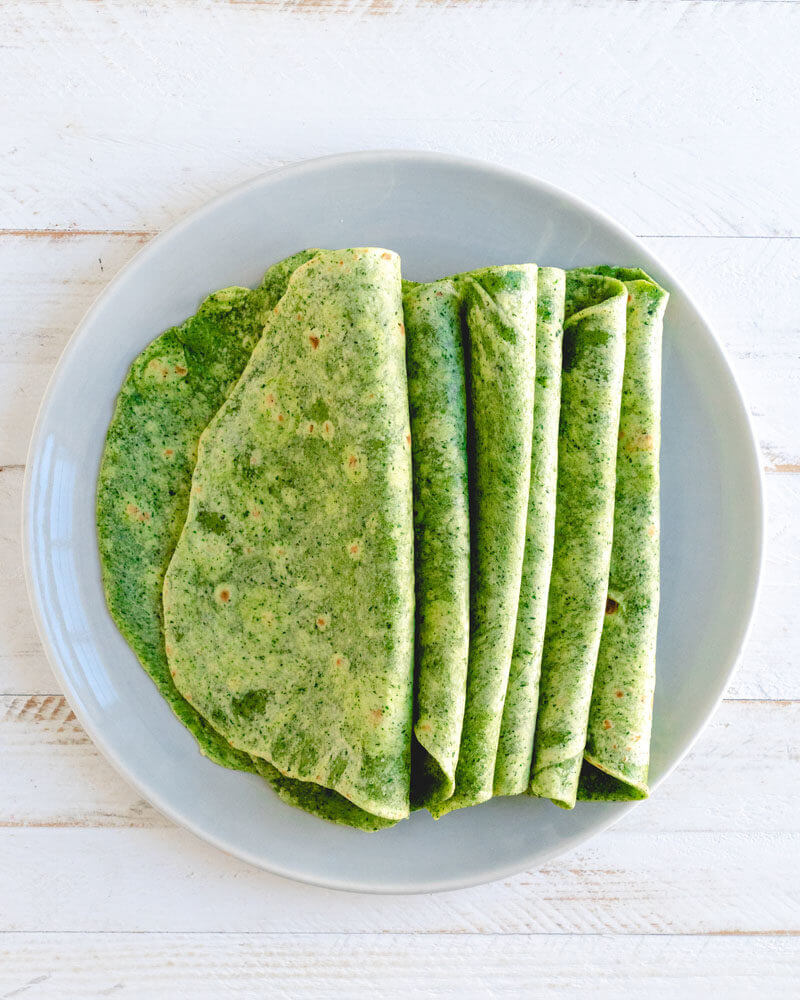 Easy Spinach Tortillas Recipe A Couple Cooks