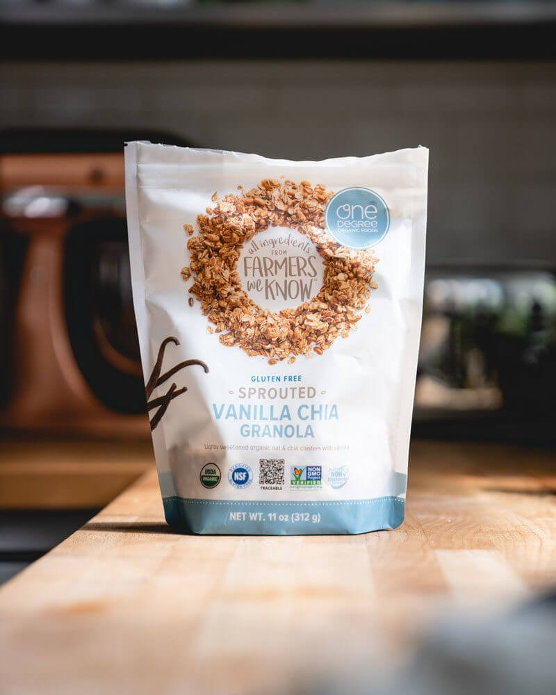 Organic granola package
